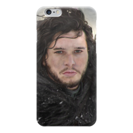 "Чехол для iPhone 6 ""Джон Сноу"" - игра престолов, game of thrones, jon snow, джон сноу"
