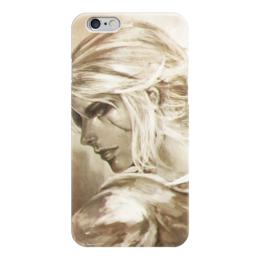"""Чехол для iPhone 6 """"Цири (Ведьмак)"""" - арт, девушка, witcher, ciri"""