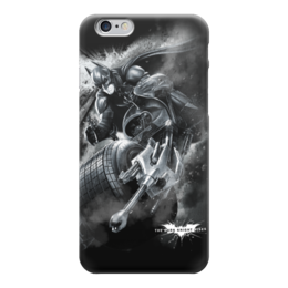 "Чехол для iPhone 6 глянцевый ""Бэтмен"" - бэтмен, batman, супергерои, комиксы, dc comics"