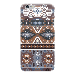 "Чехол для iPhone 6 ""Bright pattern in tribal style"" - tribal, native, aztec, navajo, indigenous"
