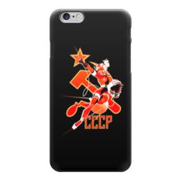 """Чехол для iPhone 6 """"СССР.  """" - наша родина"""