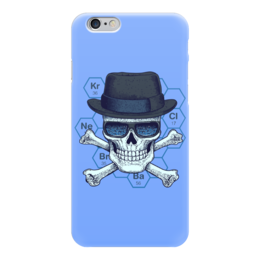 "Чехол для iPhone 6 ""Во все тяжкие (Breaking Bad)"" - skull, во все тяжкие, breaking bad, мет"