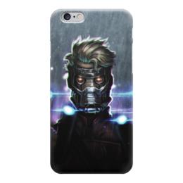 "Чехол для iPhone 6 ""Star lord"" - комиксы, марвел, guardians of the galaxy, звездный лорд, стражи галатики"