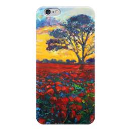"""Чехол для iPhone 6 глянцевый """"Природа Мира"""" - природа, веган, go vegan"""