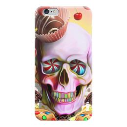 """Чехол для iPhone 6 """"Sweet Skull"""" - skull, череп, сладости, печенье, пирожное"""