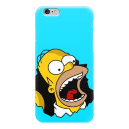 """Чехол для iPhone 6 """"Гомер Симпсон"""" - simpsons, homer, прикольные, гомер симпсон, симпспоны"""