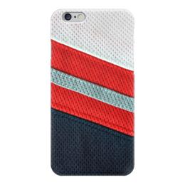 """Чехол для iPhone 6 глянцевый """"Хоккейная Форма"""" - хоккей, хоккеист, ice hockey, хоккейная форма"""