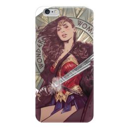 """Чехол для iPhone 6 """"Чудо-Женщина (Wonder Woman)"""" - комиксы, dc comics, чудо-женщина, wonder woman"""