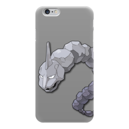 "Чехол для iPhone 6 ""Оникс"" - нинтендо, nintendo, pokemon go, покемон го, onix"