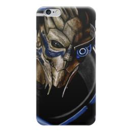 """Чехол для iPhone 6 """"Mass Effect (Garrus Vakarian)"""" - игры, mass effect, масс эффект, garrus vakarian, видеоигра"""