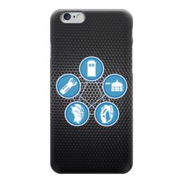 "Чехол для iPhone 6 ""Доктор Кто (Doctor Who)"" - doctor who, tardis, доктор кто, тардис, далеки"