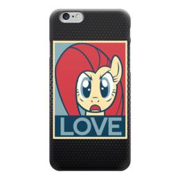 """Чехол для iPhone 6 """"Пони (Love)"""" - mlp, my little pony, моя маленькая пони"""