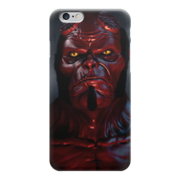 """Чехол для iPhone 6 """"Хеллбой"""" - комиксы, демон, hellboy, хеллбой, dark horse comics"""