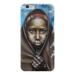 "Чехол для iPhone 6 глянцевый ""Африка"" - арт, африка, afrika"