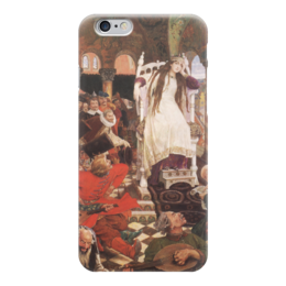 "Чехол для iPhone 6 ""Царевна-Несмеяна"" - картина, васнецов"