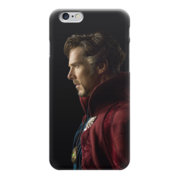 """Чехол для iPhone 6 глянцевый """"Доктор Стрэндж"""" - marvel, мстители, марвел, доктор стрэндж, doctor strange"""