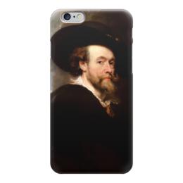"Чехол для iPhone 6 ""Питер Пауль Рубенс (автопортрет)"" - картина, рубенс"