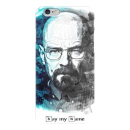 """Чехол для iPhone 6 глянцевый """"Breaking Bad"""" - во все тяжкие, breaking bad, heisenberg"""