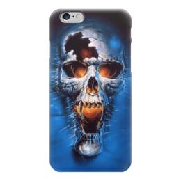 """Чехол для iPhone 6 """"Оживающий скелет"""" - череп, белые ходоки, восставший"""