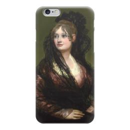 """Чехол для iPhone 6 """"Портрет донны Исабелъ де Порсель"""" - картина, гойя"""