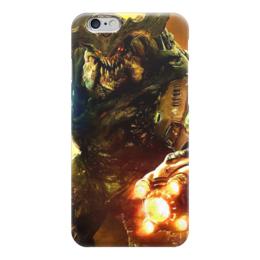 "Чехол для iPhone 6 ""Doom 4"" - doom, шутер, дум, cyberdemon, кибер демон"