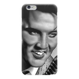 """Чехол для iPhone 6 глянцевый """"Элвис Пресли (Elvis Presley)"""" - king, король, elvis presley, элвис пресли"""