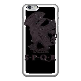 """Чехол для iPhone 6 """"Сенат и граждане Рима"""" - история, рим, путь воина, гесс, римская империя"""