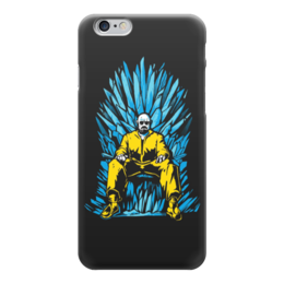 "Чехол для iPhone 6 ""Breaking Bad x Game of Thrones"" - пародия, во все тяжкие, игра престолов, гайзенберг"