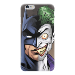 "Чехол для iPhone 6 ""Бэтмен и Джокер"" - joker, комиксы, batman, dc, dc comics"