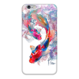 "Чехол для iPhone 6 ""Рыбки"" - арт, природа, рыбки, дым, чехол"