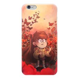 """Чехол для iPhone 6 """"Гравити Фолз"""" - бабочки, gravity falls, гравити фолз, мейбл"""