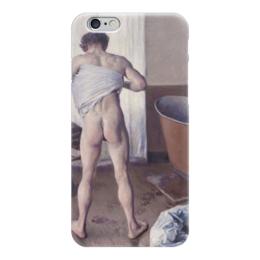 "Чехол для iPhone 6 ""Мужчина в ванной (картина Кайботта)"" - картина, кайботт"