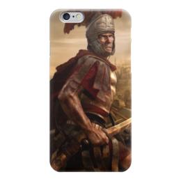 """Чехол для iPhone 6 глянцевый """"Римская Империя"""" - история, rome, empire, римская империя, легионы рима"""