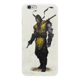 """Чехол для iPhone 6 """"Mortal Kombat X Scorpion"""" - скорпион, mortal kombat, смертельная битва, scorpion"""