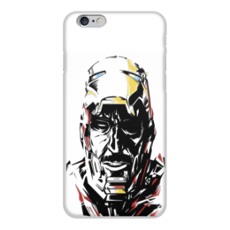 """Чехол для iPhone 6 """"Железный человек"""" - супергерои, марвел, железный человек, iron man, superheroes"""
