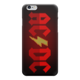 "Чехол для iPhone 6 глянцевый ""AC/DC "" - ac dc, heavy metal, hard rock, рок группа, рок музыка"