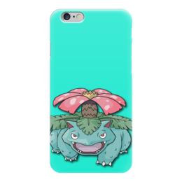 """Чехол для iPhone 6 """"Венузавр"""" - нинтендо, бульбазавр, покемон го, ивизавр, venusaur"""