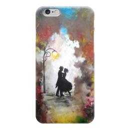 """Чехол для iPhone 6 """"Танец в парке"""" - любовь, танец, рисунок, ночь, парк"""
