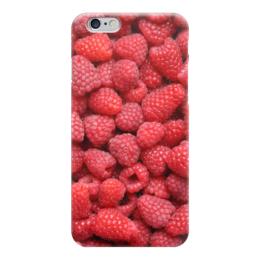 """Чехол для iPhone 6 """"Малина"""" - ягоды, малина, raspberry"""