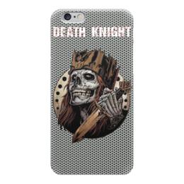 """Чехол для iPhone 6 """"Death Knight"""" - skull, череп, рыцарь, knight, кольчуга"""