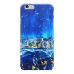 "Чехол для iPhone 6 ""Аватар"" - звезды, ночь, отражение, аватар"