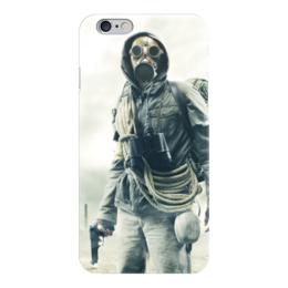 """Чехол для iPhone 6 глянцевый """"S.T.A.L.K.E.R."""" - сталкер, stalker, чистое небо, игра"""