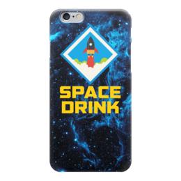 """Чехол для iPhone 6 """"Space Drink"""" - космос, наука, the spaceway, space drink"""