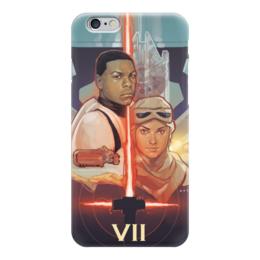 """Чехол для iPhone 6 глянцевый """"Звездные войны 7"""" - star wars, darth vader, звездные войны, starwars, дарт вейдер, старворс, пробуждение силы, the force awakens"""