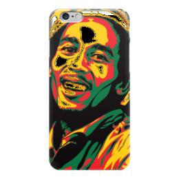 "Чехол для iPhone 6 ""Bob Marley (Боб Марли)"" - регги, боб марли, bob marley"