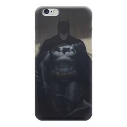 "Чехол для iPhone 6 глянцевый ""Бэтмен"" - комиксы, бэтмен, dc, dc comics, batman"