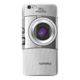 """Чехол для iPhone 6 глянцевый """"Фотоапарат"""" - прикольные, прикол, юмор"""