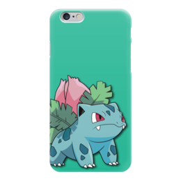 """Чехол для iPhone 6 """"Ивизавр"""" - нинтендо, бульбазавр, покемон го, ivysaur, венузавр"""