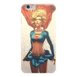 "Чехол для iPhone 6 ""Supergirl"" - комиксы, супермэн, dc, dc comics, супергерл"