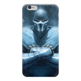 """Чехол для iPhone 6 """"Саб-Зиро (Мортал Комбат)"""" - mortal kombat, mk, мортал комбат, sub-zero, саб-зиро"""